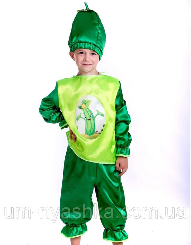 карнавальный костюм Огурец, костюм Огурец