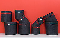 12 литров с ручками Grow bag горшок для растений тканевой