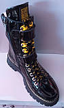 Ботинки молодежные из натуральной кожи от производителя модель КС2111, фото 4