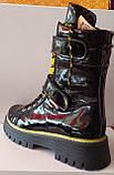 Ботинки молодежные из натуральной кожи от производителя модель КС2111, фото 3