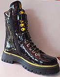 Ботинки молодежные из натуральной кожи от производителя модель КС2111, фото 2