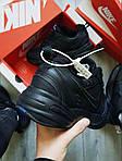 Чоловічі кросівки Nike Air Monarch IV Total Black (чорні) 506TP, фото 7