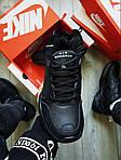 Чоловічі кросівки Nike Air Monarch IV Total Black (чорні) 506TP, фото 3