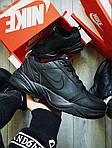 Чоловічі кросівки Nike Air Monarch IV Total Black (чорні) 506TP, фото 4