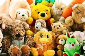 Разные мягкие игрушки