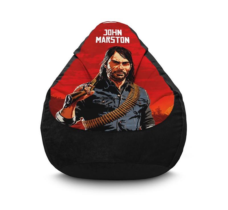 "Кресло мешок ""RDR 2. John Marston"" Флок"