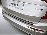 Volvo XC90 2015+ пластиковая накладка на задний бампер, фото 5