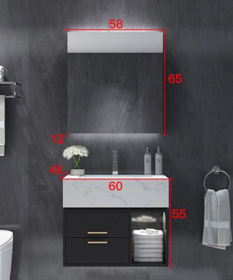 Комплект мебели для ванной Boston RD-9076