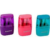 Точилка с контейнером 2 лезвия Axent Intense 1164-A