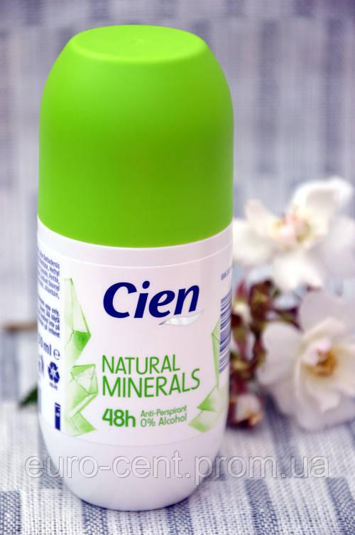 Cien Deo Roll Natual Minerals роликовый дезодорант