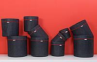 80 литров с ручками Grow bag горшок для растений тканевой