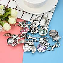 Часы брелок сова 7 цветов, фото 2