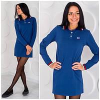 """Женское платье """"Tommy Hilfiger"""" синее ОS-14"""