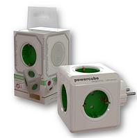 Разветвитель PowerCube  5 гнезд с заземлением Allocacoc 1100GN DEORPC