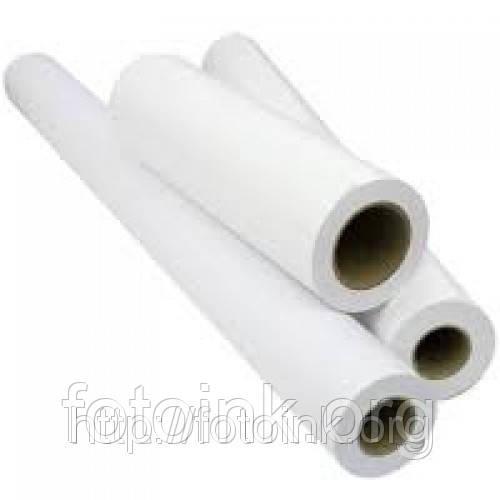 Рулонная бумага глянц 180 г /м² 914 мм х 30 метров - Расходные материалы для струйной и лазерной печати в Днепре