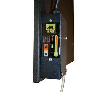 Керамічний обігрівач AFRICA з терморегулятором T510,чорний , 15 м2, 500 Вт, фото 2