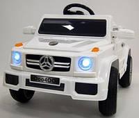 Детский электроджип Mercedes-Benz (белый цвет) с пультом дистанционного управления