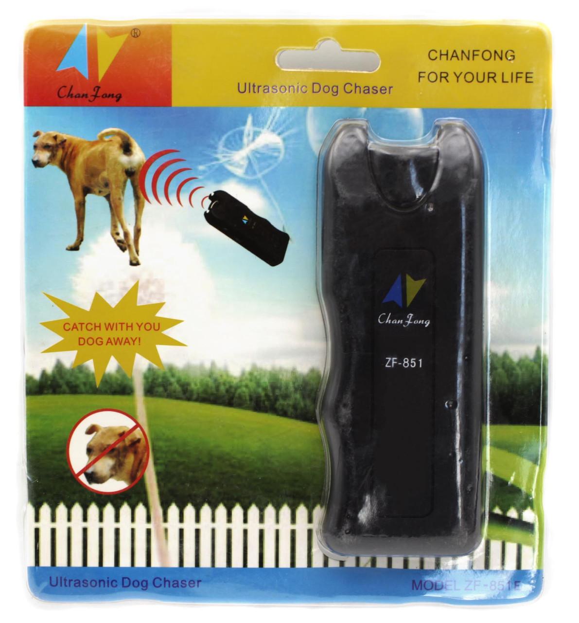 Отпугиватель-ультразвук ChanFang ZF-851/ Защита от бездомных животных