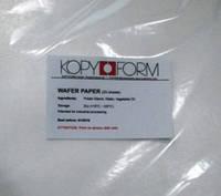 Вафельная бумага KopyForm 0,4мм (0,7 мм премиум)