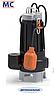 Pedrollo MC 15/45 двухканальный насос для стоков с отходами