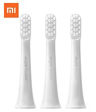 Три Насадки для Xiaomi Mijia Sonic Electric Toothbrush T100 MES603 електричної зубної щітки MBS302 Q/WXQHXB0