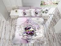 Постельное белье 200х220 Gokay Saten 3D Lifan