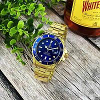 Rolex Submariner 2128 Quarts Gold-Blue, фото 1