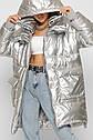 Женская модная Зимняя куртка X-Woyz 8882 размеры 46 48, фото 8