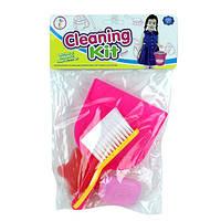 Набор для уборки 979-21 щетка, совок, мыло, губка