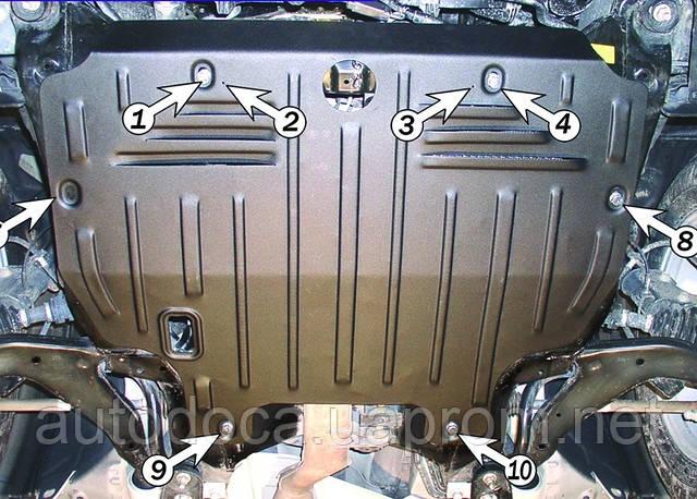 Захист картера двигуна і акпп Nissan Murano з установкою! Київ