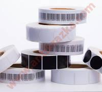 Защитные радиочастотные антикражные  этикетки 3х3, 3х4