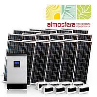 Автономная солнечная электростанция 4 кВт