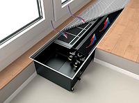 Внутрипольные конвекторы KERMI Ascotherm eco KC281 (Отопление и охлаждение в 2-трубной системе)