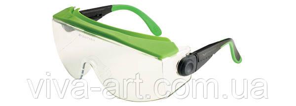Окуляри захисні 551 спільне носіння з оптичними лінзами, покриття від запотівання, подряпин, Univet (Італія)