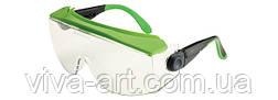 Окуляри захисні 551 спільне носіння з оптичними окулярами, покриття від запотівання, подряпин, Univet (Італія)