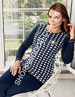 Женская пижама Mel Bee (Sahinler) MBP 22341, костюм домашний с брюками