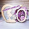 Рамочка под фотографию для УЗИ и новорожденного