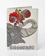 """Обложка на паспорт """"Слон"""""""