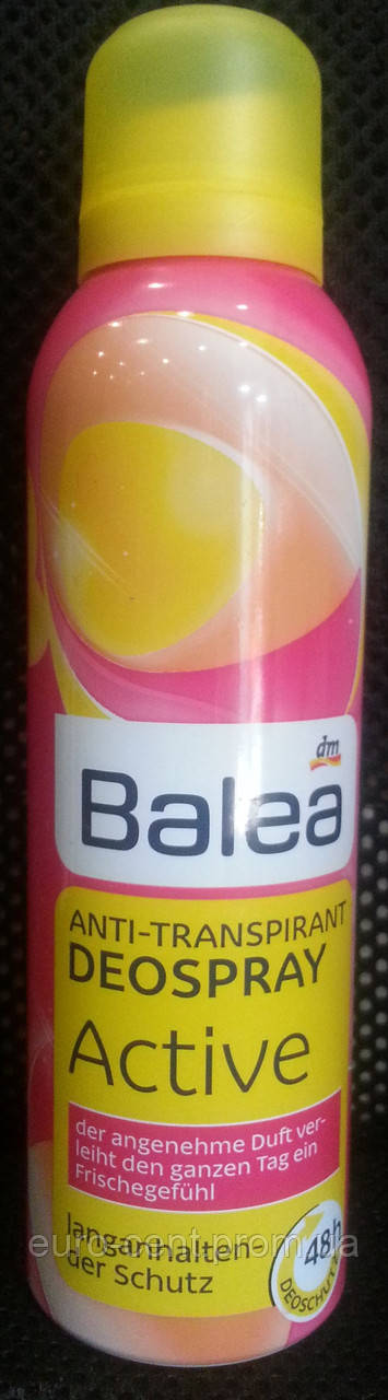 Дезодорант (спрей) Anti-Transpirant Balea Deospray Active