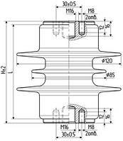 Изолятор ОСК 8-10-А01-1 УХЛ2