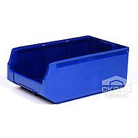 Пластиковый складской лоток (12.406) 500х300х200 мм
