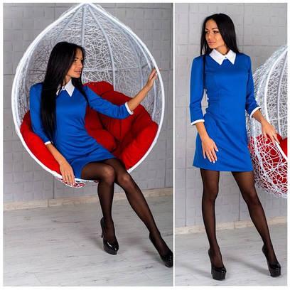 Купить Классическое платье приталенное строгое черное в Харькове на ... a7b746fa663