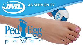 Электрическая роликовая пилка для стоп и пяток Пед Эгг Пауэр (Ped Egg Power), фото 2