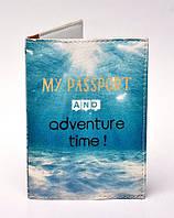 """Обложка на паспорт """"Adventure Time"""""""