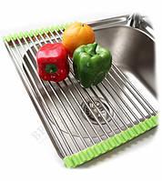 Полка (сетка-сушилка для раковины) кухонная для сушки посуды