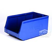 Пластиковый складской лоток (12.407) 500х300х250 мм