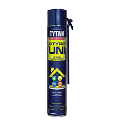 Пена клей для изоляции и герметизации Tytan Styro Uni STD, 750 мл