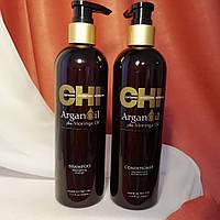 Набор CHI Argan Oil Shampoo 340 мл + Conditioner 340 мл