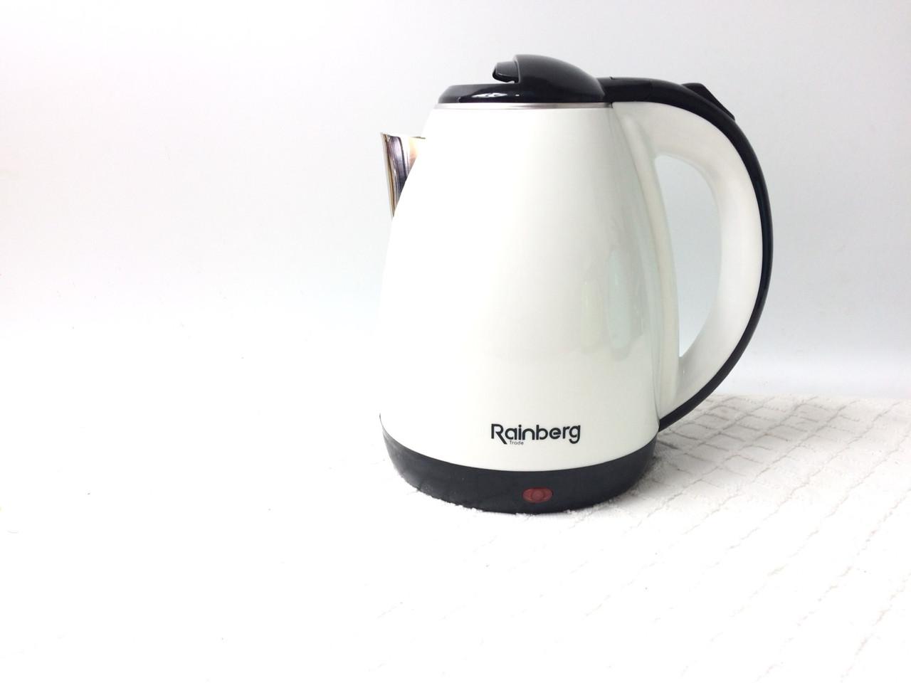 Электрический чайник Rainberg 2 л белый цвет
