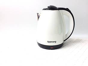 Электрический чайник Rainberg 2 л белыйцвет